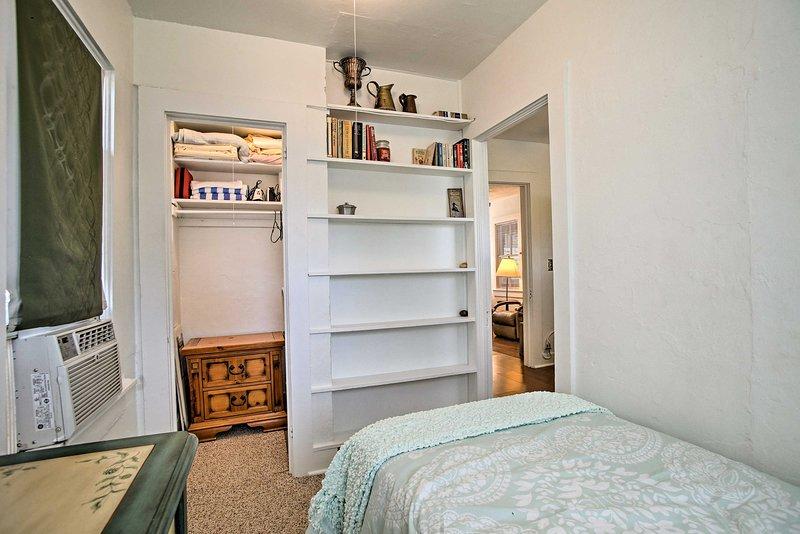 The 'Bonus Room' has a twin mattress.