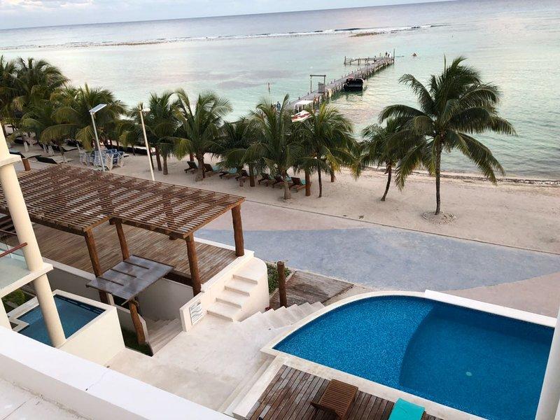 Lujoso Departamento Frente al Mar, location de vacances à Costa Maya