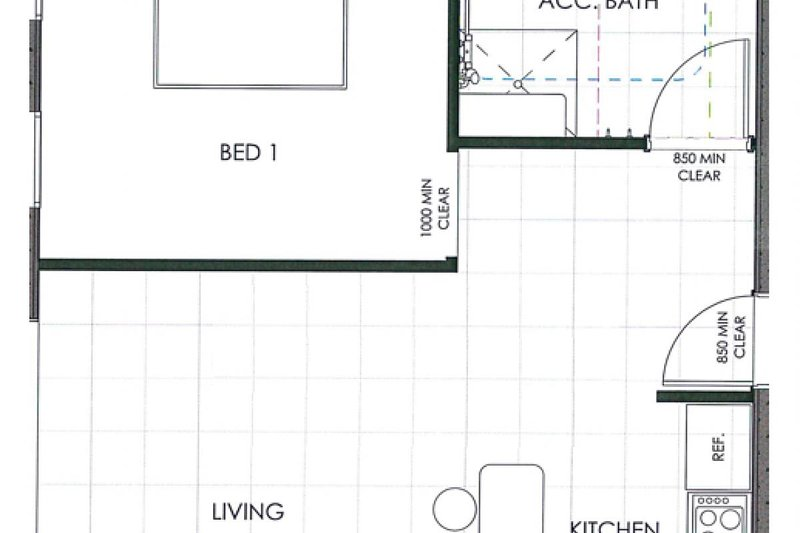 Alojamiento en Hunter Valley - Ironbark Hill Estate - Pokolbin - Plano de planta