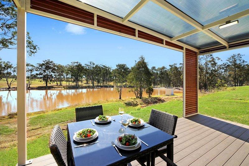 Alojamiento en Hunter Valley - Ironbark Hill Estate - Pokolbin - Restaurante