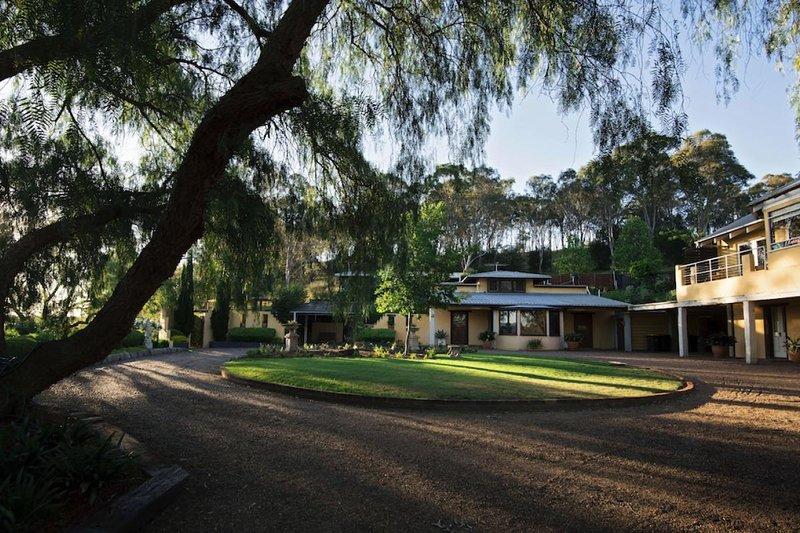 Hunter Valley Unterkunft - ich Villini Estate - Lovedale - alles