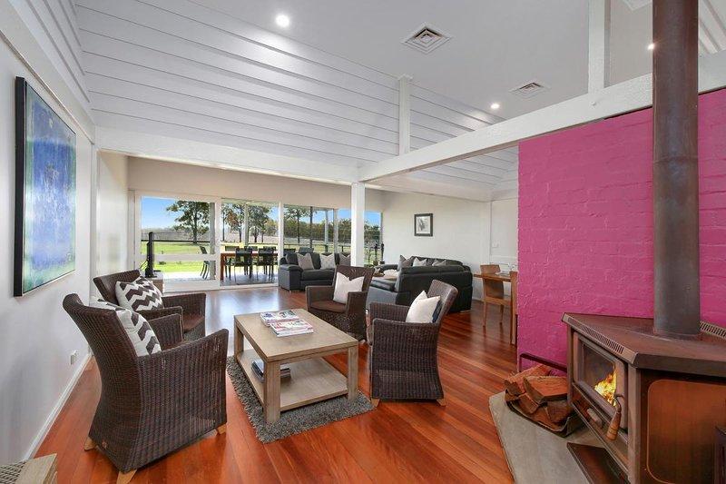 Alojamiento en Hunter Valley - Ironbark Hill Estate - Pokolbin - Sala de estar