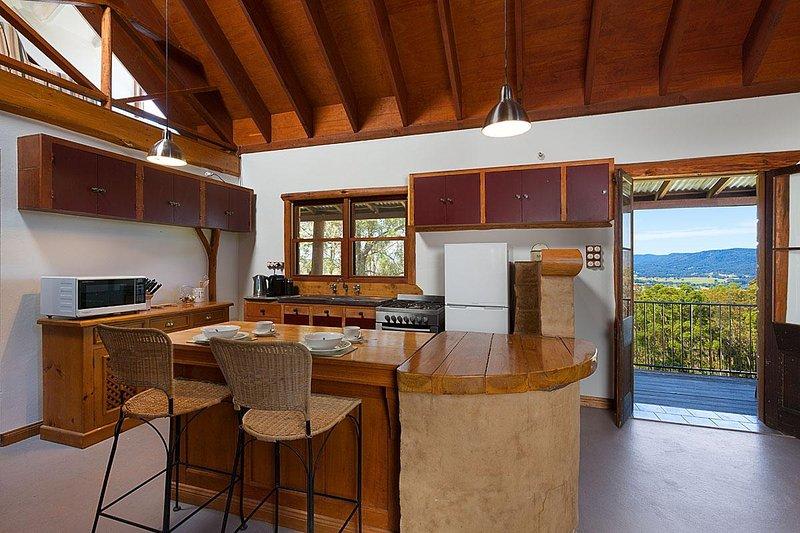 Hunter Valley Unterkunft - Alphawood - Mount View - Küche