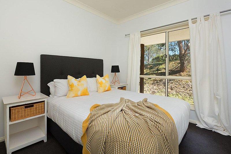 Hunter Valley Unterkunft - Alphawood - Mount View - Schlafzimmer