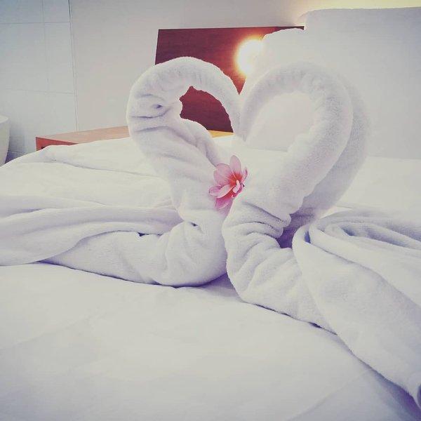 Come as couple with children? We still arrange your couple bedroom with romantic arrangement