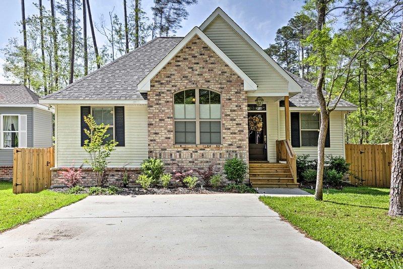 Reserve su escapada a este Louisiana 3 dormitorios, casa de vacaciones 2-baño!