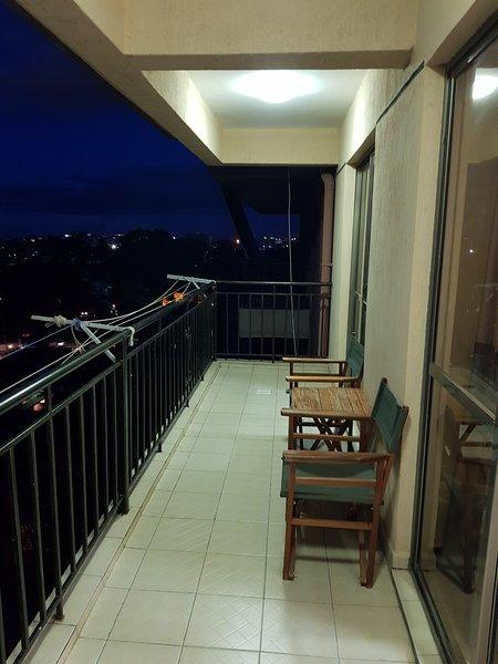 Ampio balcone aerato