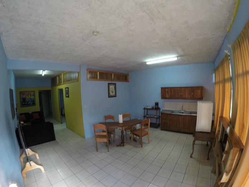 Two Bedroom Apartment, alquiler vacacional en Agua Azul