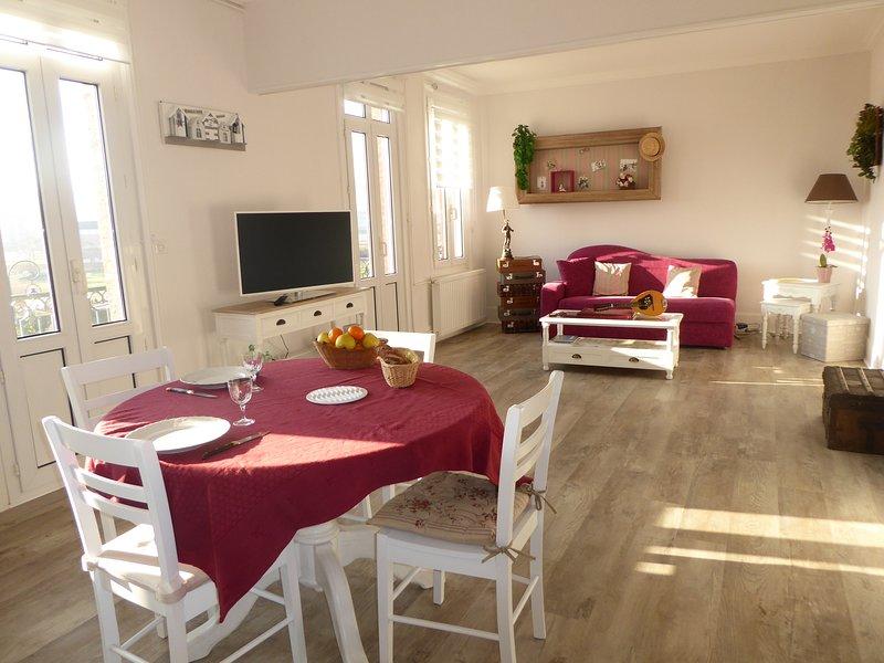 Appartement vue mer au coeur du quartier balnéaire, vacation rental in Mers-les-Bains