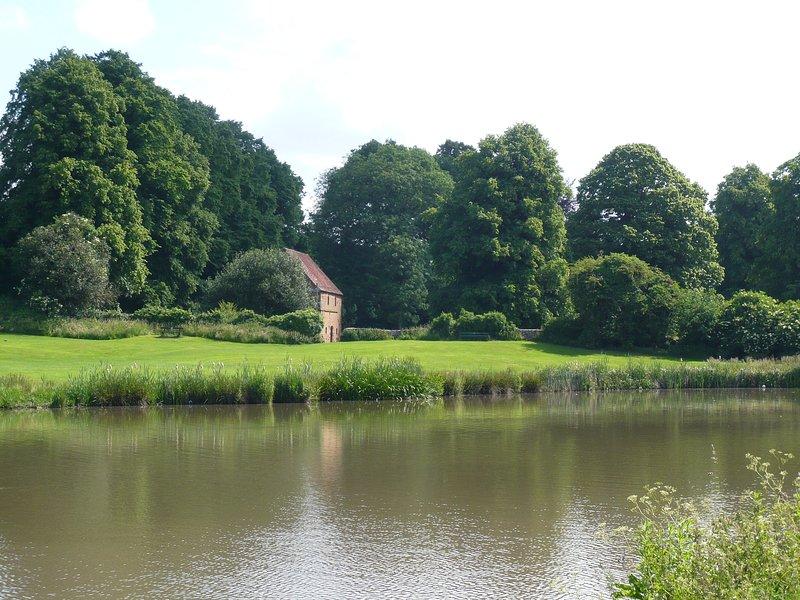 Lake i Abbey Fields