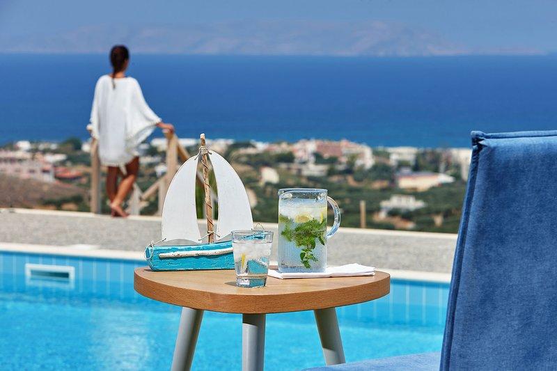 GG Villa offers impressive sea and mountain views & full privacy!