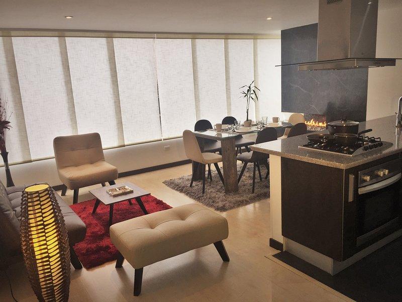 Espectacular Apartamento en Santa Barbara, alquiler de vacaciones en Bogotá