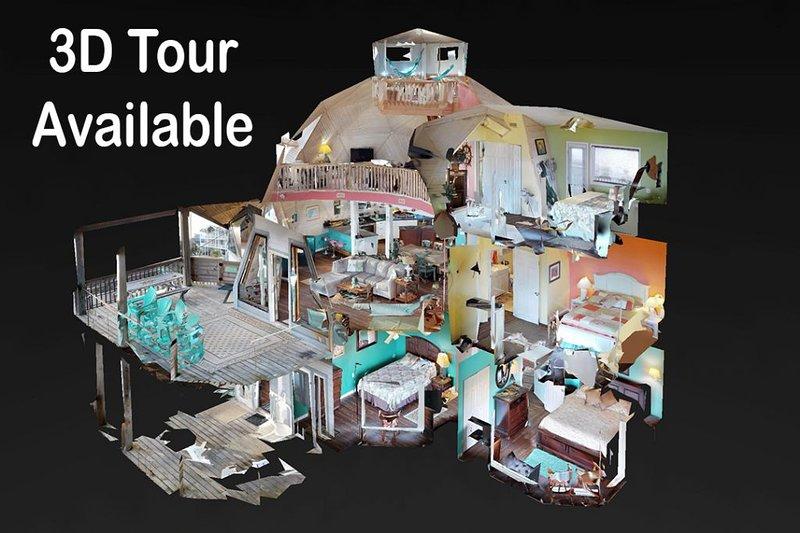 Incrível 3D Tour of Esta casa está disponível.