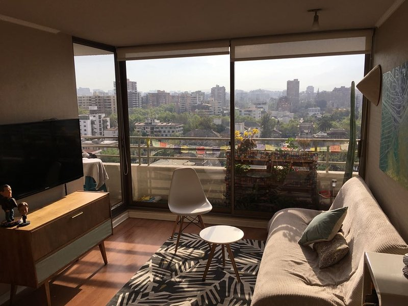 Central Apartment en Providencia, holiday rental in Nunoa