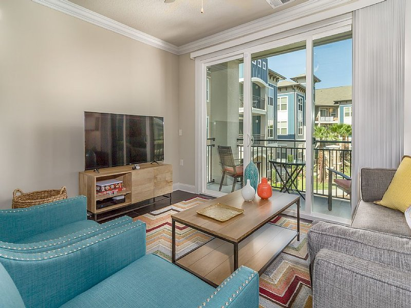 55 inch television; Netflix; Private balcony