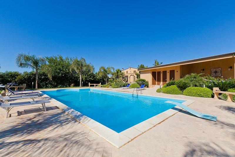 Villa Athena, vacation rental in Campobello di Mazara