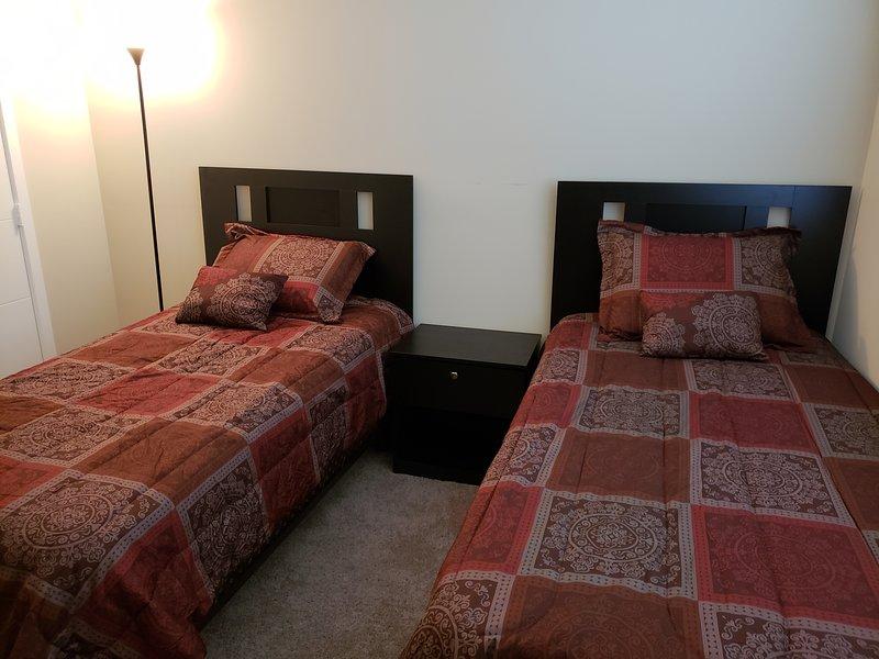 2 ^ camera con 2 letti singoli.