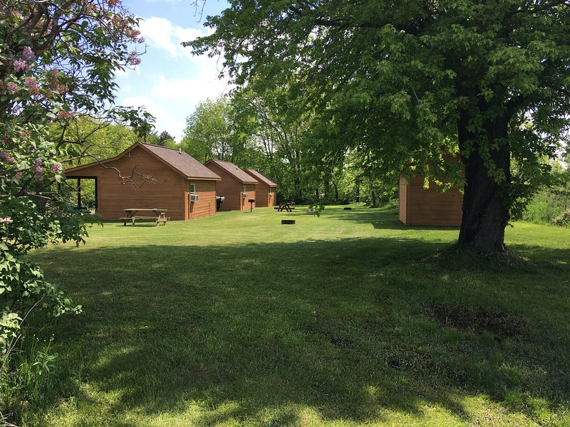 Deeg's Cabins ' The Pheasant ', vacation rental in Alma Center