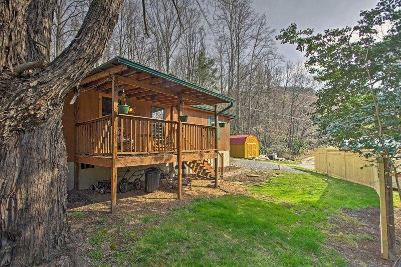 Enamórate de 'bálsamo Valley Cabin,' un alquiler de vacaciones en Waynesville!