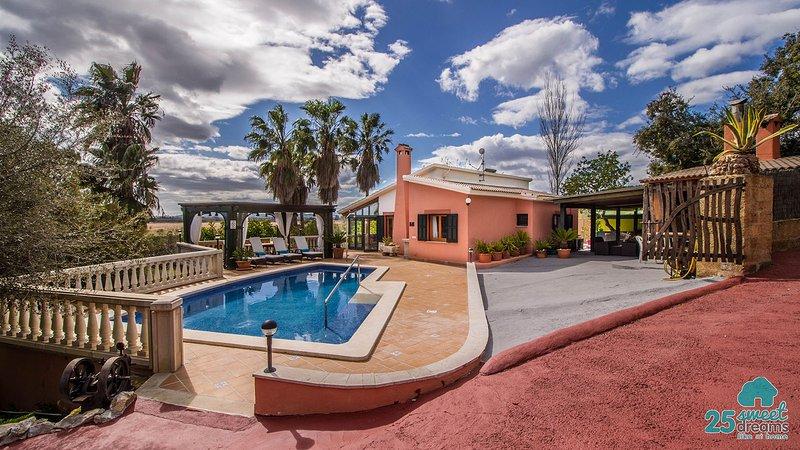 Piscina, naturaleza y tranquilidad, casa vacanza a Port d'Alcudia