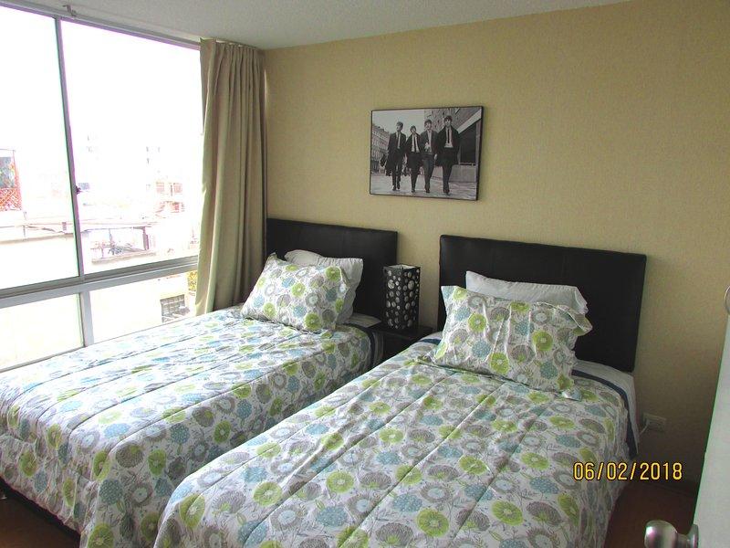 camera da letto 2 letti di 1 1 / 2plz