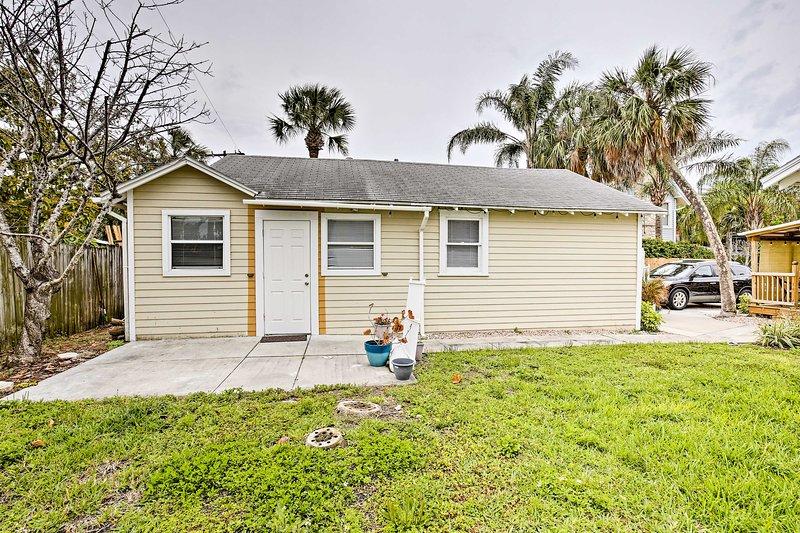 Unwind in this 2-bedroom, 1-bathroom vacation rental apartment in Clearwater Beach.