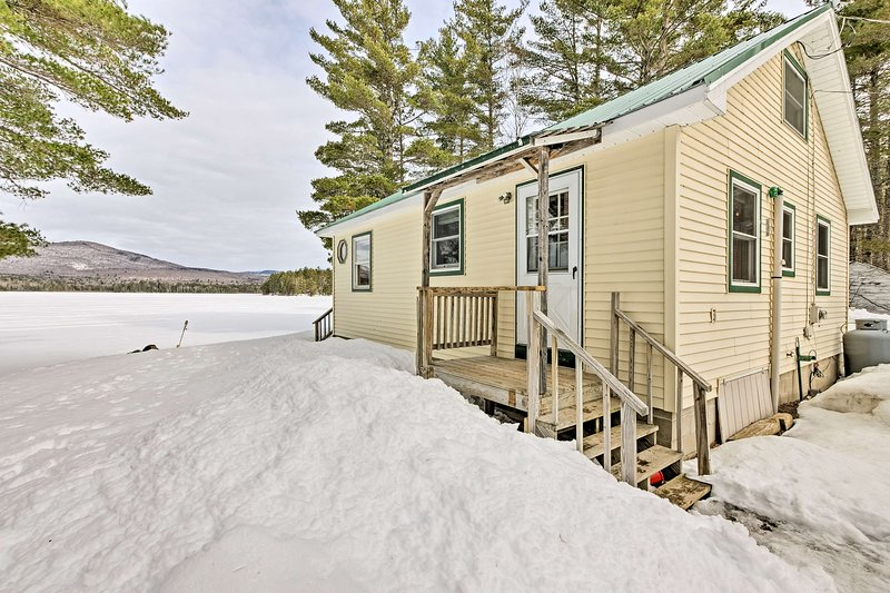 Escape the hustle and bustle of everyday life at this lakeside vacation rental!