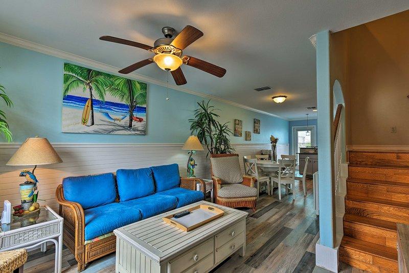 Book your beach getaway at this cozy condo!