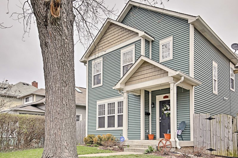 Explore the excitement of Indianapolis from this lovely vacation rental home.