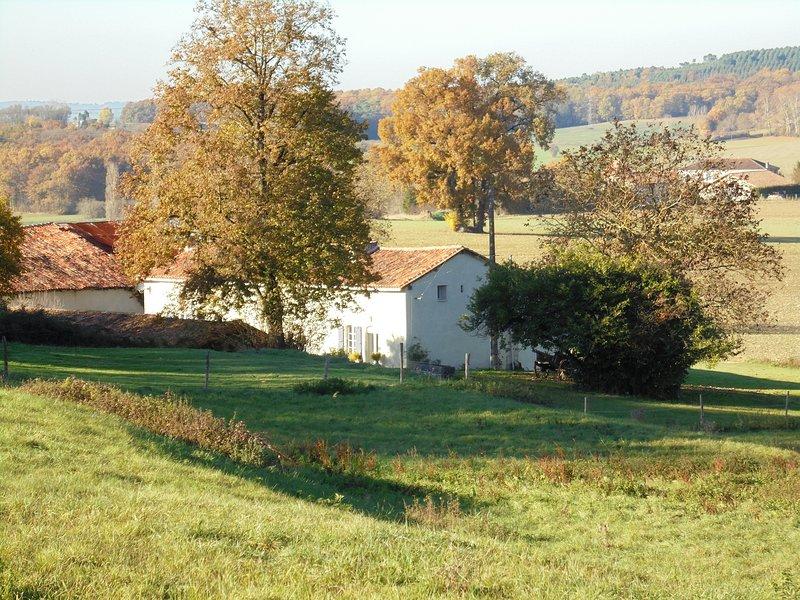 La Coquille - eingebettet in der Charente Landschaft