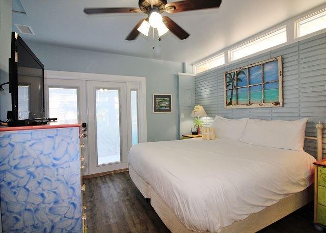 Dormitorio principal con cama King Size