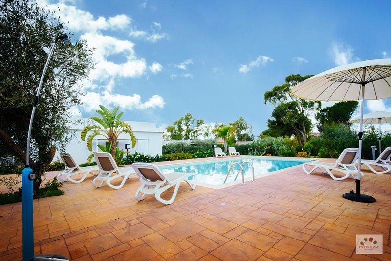 Villa con piscina - 4 posti letto a Montevago - Menfi, holiday rental in Santa Margherita di Belice