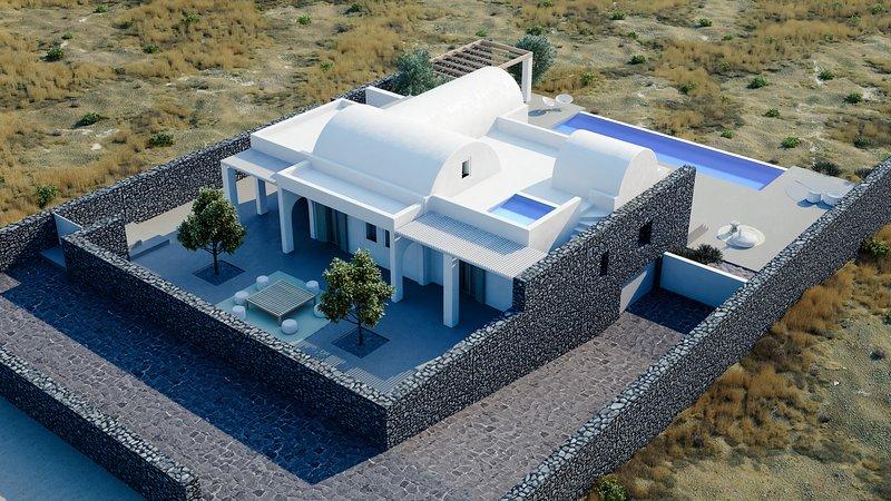 Samsara - Santorini Luxury Retreat, vakantiewoning in Athinios