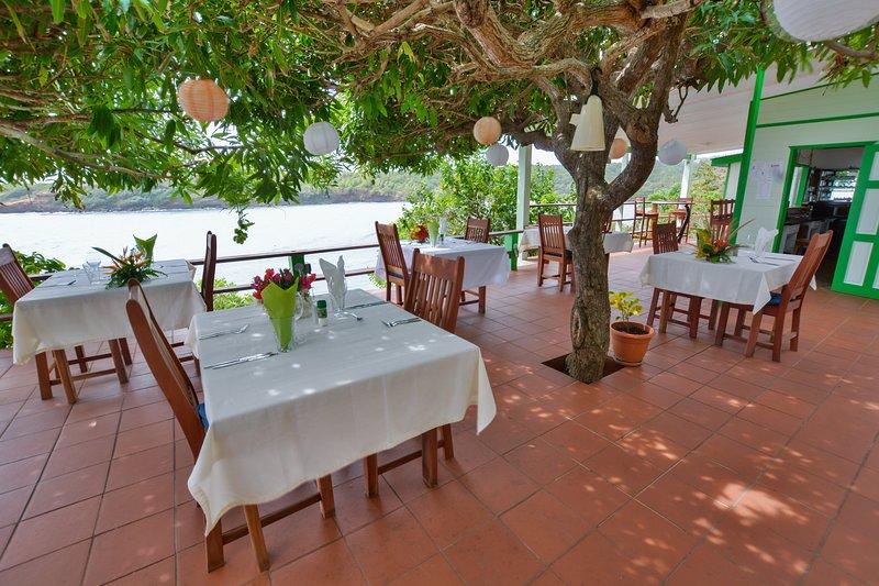 Terrace Restaurant at Cabier Ocean Lodge
