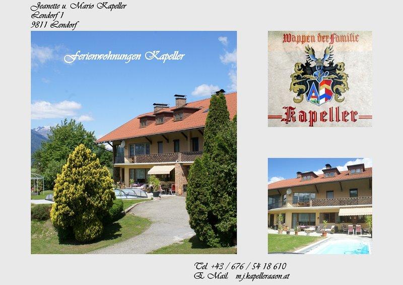 Ferienwohnung mit ' Balkon ', location de vacances à Obervellach