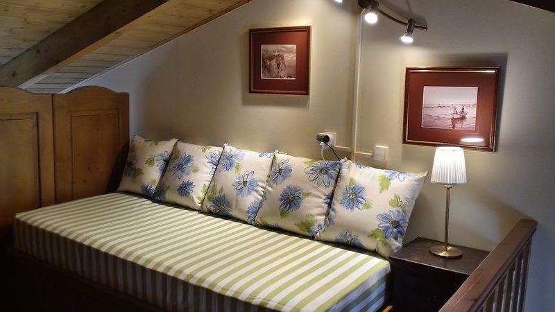 sofá-cama de Loft