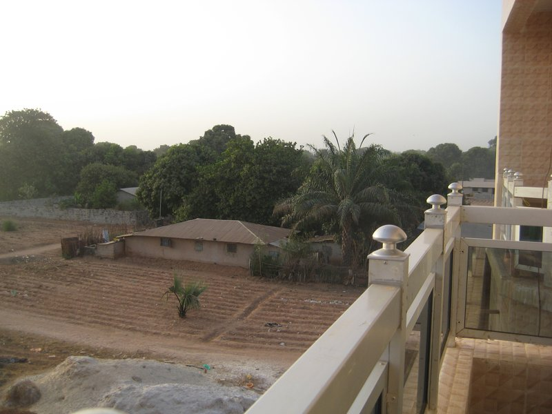 seen from the balcony