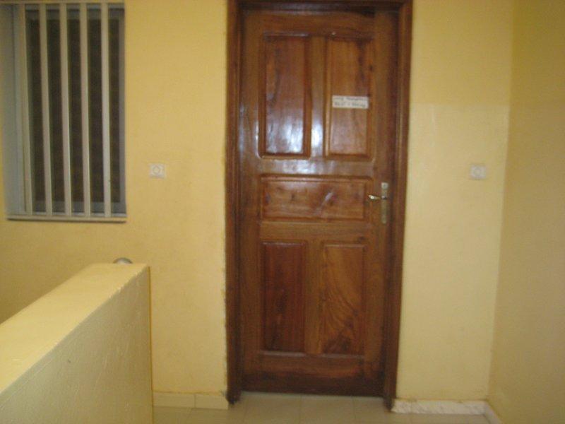 front door of the apartment 2nd left