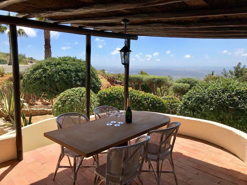 Monte Borboleta - Casa Libellula - Fantastic ocean view from the private terrace