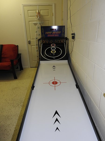 Tabla Arcade Skee bola Hot Shot