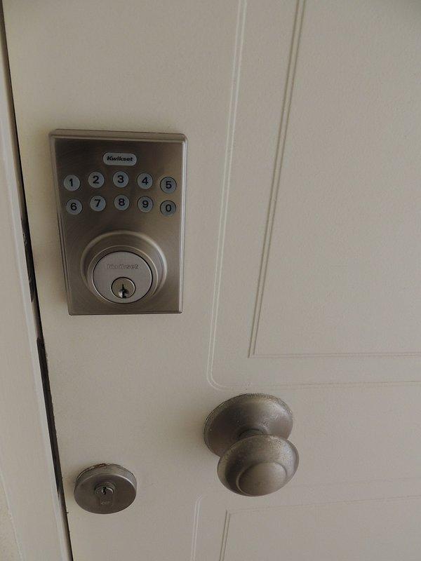 Cerradura de seguridad del departamento