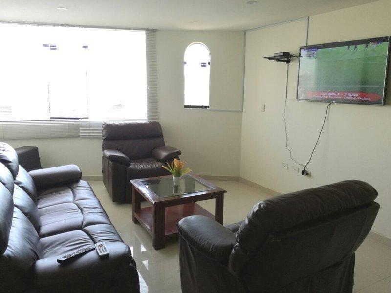 Departamento en Yanahuara, súper céntrico, alquiler de vacaciones en Arequipa