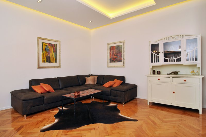 pleasant atmosphere with antique bricks combined with modern and functional furnishings