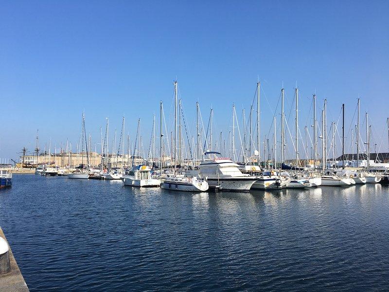 St Malo marina - 30 mins drive