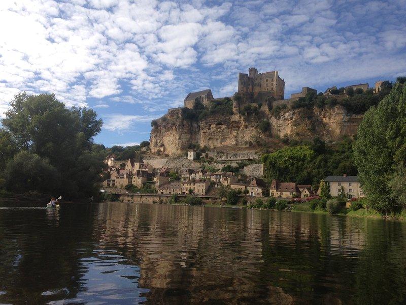 La rivière Dordogne.