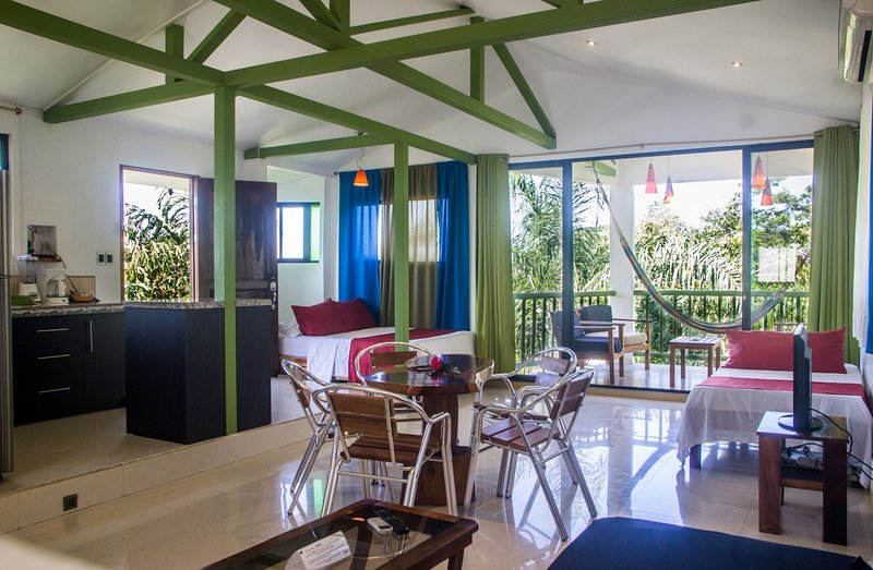 Penthouse Suite at Fuego Lodge, CR, holiday rental in Carmen