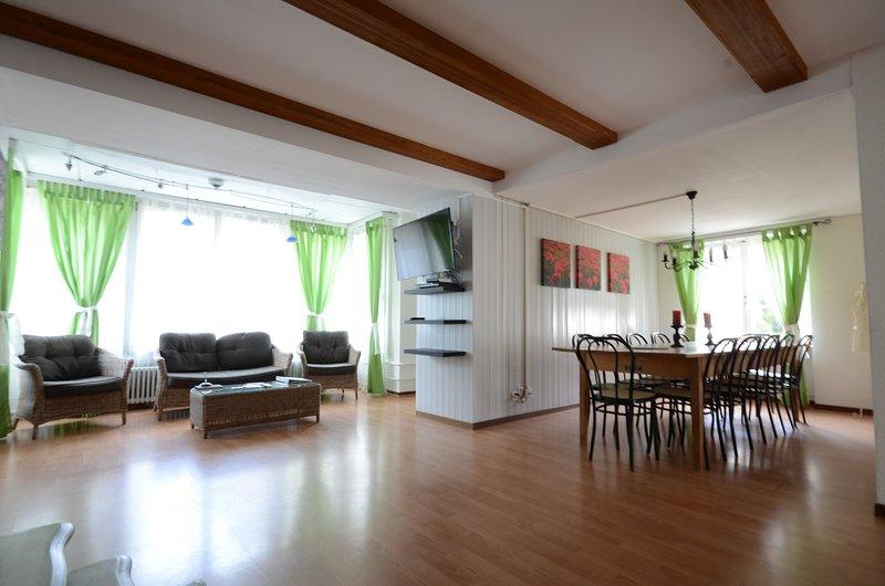 Offene Küche und komfortablen Sitzbereich