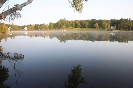 Lago argentato