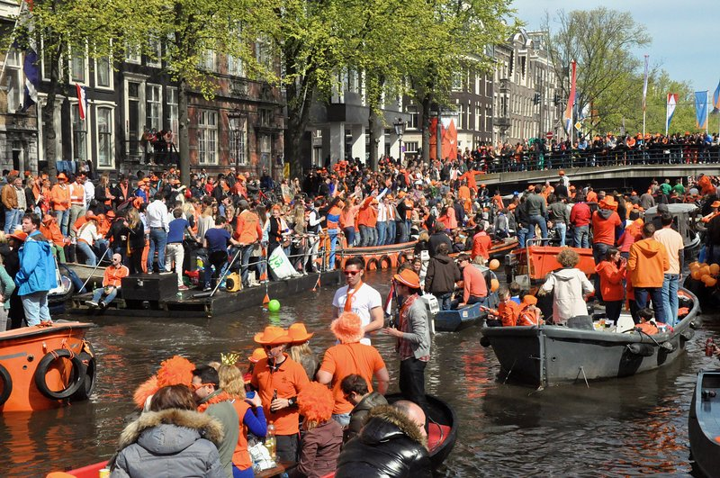 The party of the year is on April 27: Kings day