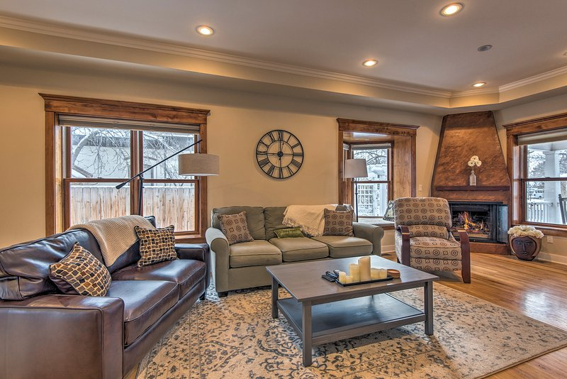 Large windows fill the living area with natural light.